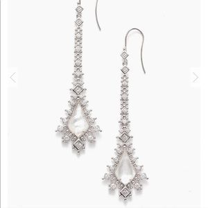 Kendra Scott Reimer Statement Earrings in silver